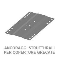 ANCORAGGI STRUTTURALI PER COPERTURE METALLICHE GRECATE